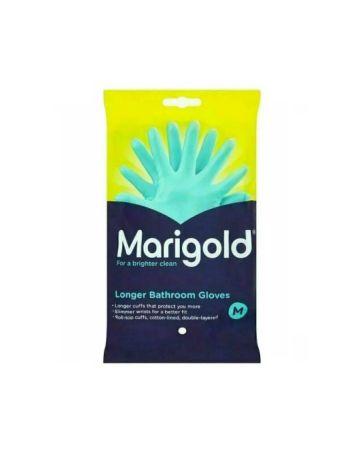 Marigold Longer Bathroom Gloves Medium