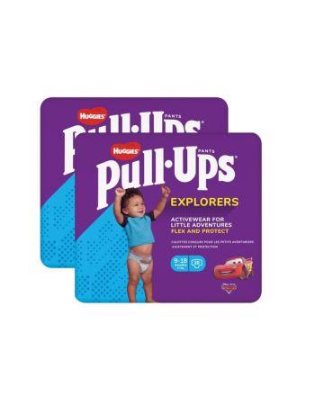 Huggies Pull Ups Pants Boy Explorers 9-18 Months 28s