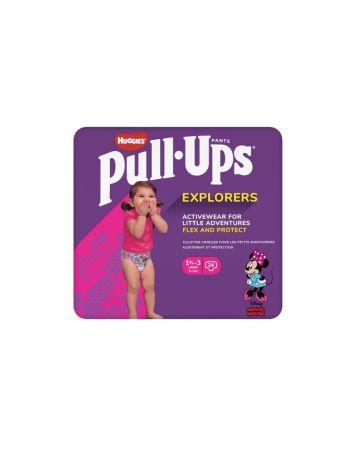 Huggies Pull Ups Pants Girl Explorers 1.5-3 Years 24s