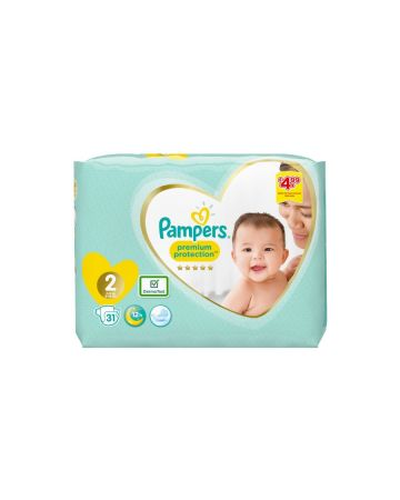Pampers Premium Protection Size 2 31s (PM £4.99)