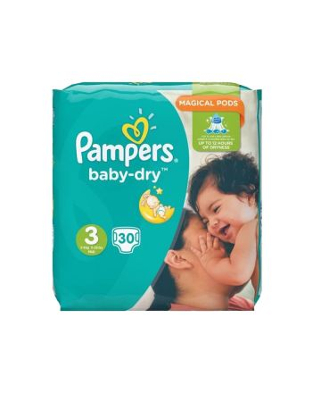 Pampers Baby Dry Midi Size 3 30s