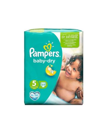 Pampers Baby Dry Junior Size 5 23s