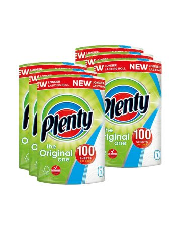 Plenty Kitchen Roll White