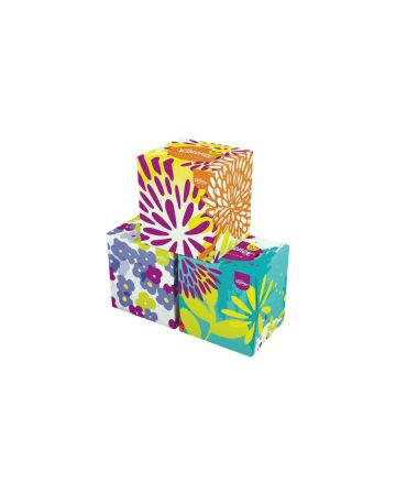 Kleenex Collection Cube Tissues 56s (PM £1.69)