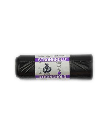 Disposable Black Bin Bags 29X33 10s