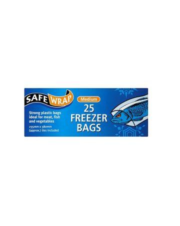 SafeWrap Freezer Bags 25s