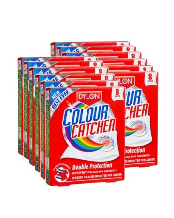 Dylon Colour Catcher Sheets 8s