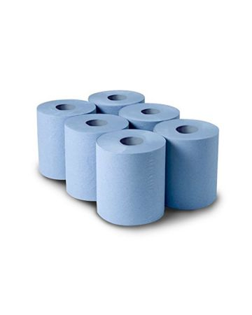 Blue Centrefeed Roll 2 Ply 150m X 180mm
