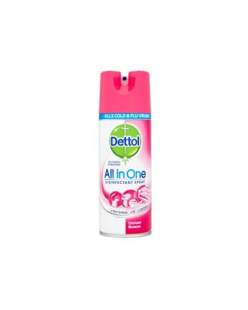 Dettol All In One Disinfectant Spray Orchard Blossom 400ml