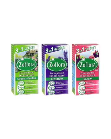 Zoflora Disinfectant Assorted 56ml (bouquet/lavender/country Garden)
