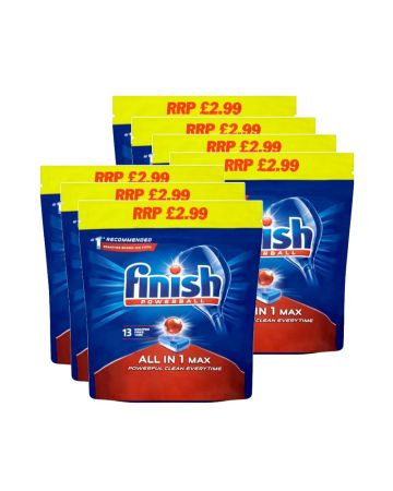 Finish Powerball All In 1 Max Tablets 13s (pm £2.99)