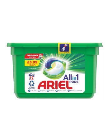 Ariel Original All-in-1 Pods 12s (PM £3.99)