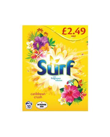 Surf Powder Carribean Crush 10 Washes 700g (PM £2.49)