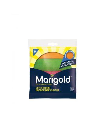 Marigold Let It Shine Microfibre Cloths 4s