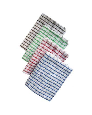 Tea Towel Terry Check 100% Cotton