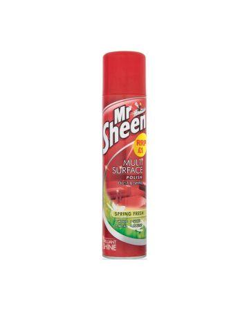 Mr Sheen Spray Polish Spring Fresh 300ml (PM £1.00)