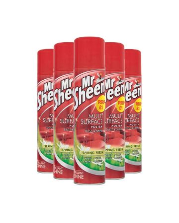 Mr Sheen Spray Polish Spring Fresh 300ml (pm £1.00)