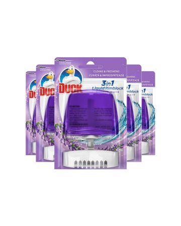 Toilet Duck Rimblock Purple Wave