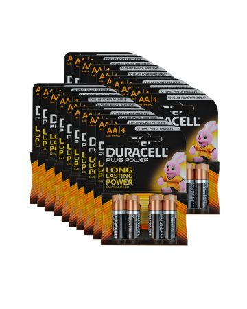 Duracell Plus Power Aa Batteries Mn1500 (4 Pack)