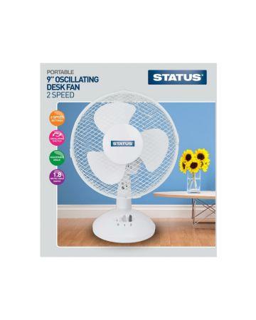 Status Desk Fan 9 Inches