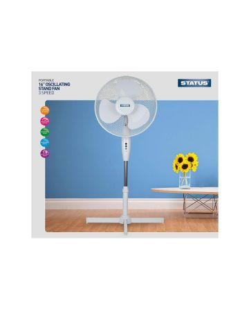 Status Stand Fan 16 Inches