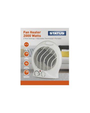 Status Upright Fan Heater 2000 Watts