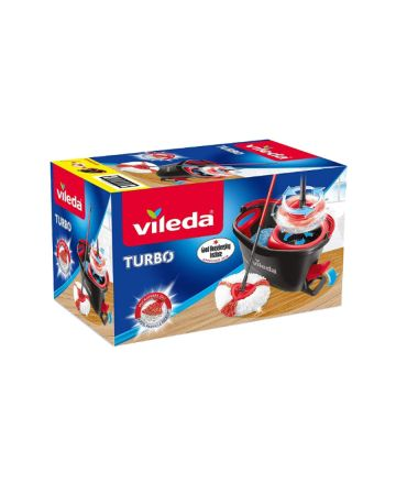 Vileda Turbo Bucket And Mop Set