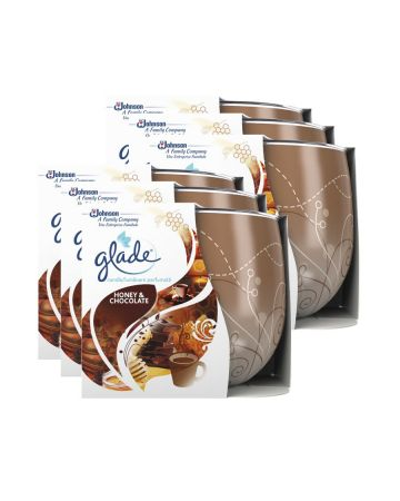 Glade Candle Honey & Chocolate 120g