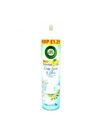 Air Wick Air Freshener Crisp Linen & Lilac 240ml (PM £1.29)
