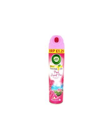 Air Wick Air Freshener Pink Sweet Pea 240ml (PM £1.29)
