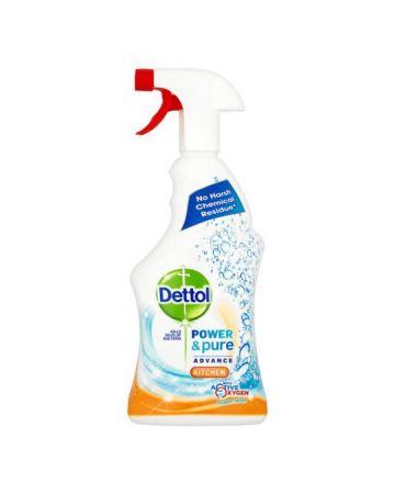 Dettol Power & Pure Kitchen Spray 750ml
