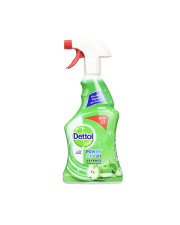 Dettol Clean & Fresh Multi-Purpose Spray Green Apple 500ml (PM £2.00)