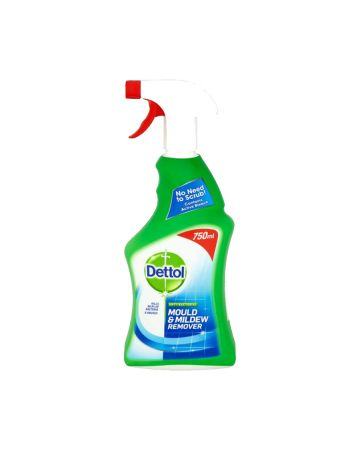 Dettol Anti-Bacterial Mould and Mildew Remover 750ml