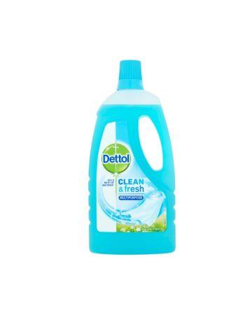 Dettol Clean & Fresh Multipurpose Liquid Crisp Linen & Aqua Sky 1ltr