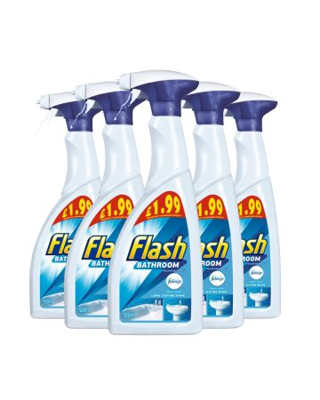 Flash Bathroom Spray 500ml (PM £1.99)