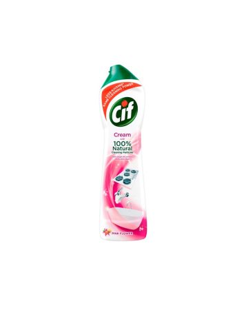 Cif Cream Pink Flower 500ml
