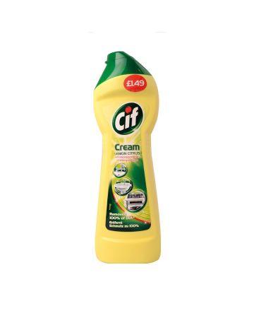 Cif Cream Lemon 250ml (PM £1.49)