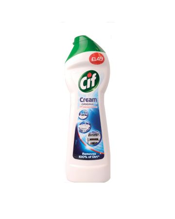 Cif Cream Regular White 250ml (PM £1.49)