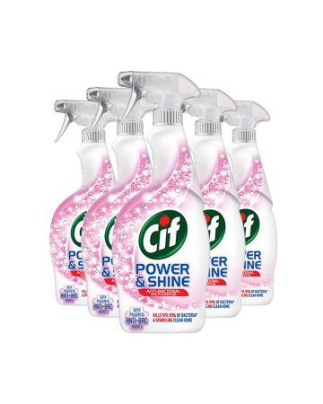 Cif Power & Shine Antibacterial Spray 700ml