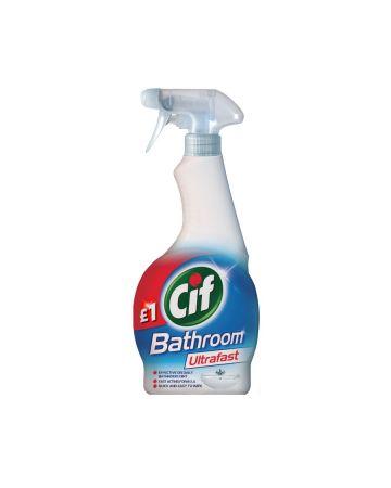 Cif Ultrafast Bathroom Spray 450ml (PM £1.00)