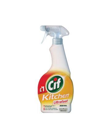 Cif Ultrafast Kitchen Spray 450ml (PM £1.00)