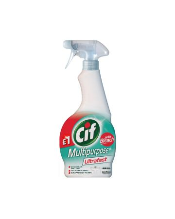 Cif Ultrafast Multipurpose Spray with Bleach 450ml (PM £1.00)