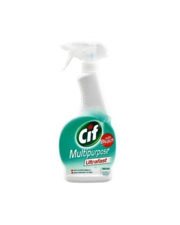 Cif Ultrafast Multipurpose Spray With Bleach 450ml