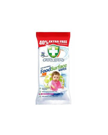 Green Shield Food Surface Wipes 70s