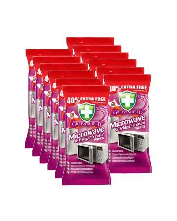 Green Shield Microwave & Fridge / Freezer Wipes 70s