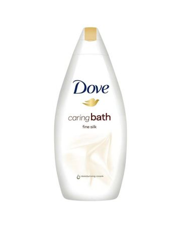 Dove Cream Bath Fine Silk 500ml