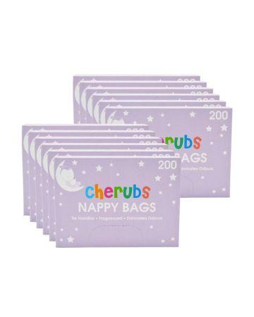 Cherubs Nappy Bags 200s
