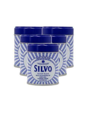 Silvo Silver Metal Polish Wadding 75g