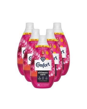 Comfort Ultimate Care Fabric Conditioner Fuchsia Passion 36 Washes 540ml (pm £2.49)