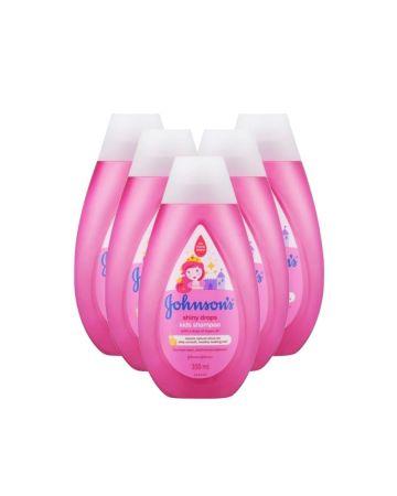 Johnson's Shiny Drops Kids Shampoo With Argan Oil 300ml